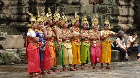 Angkor Wat bailarinas