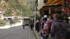 Bus a Machu Picchu