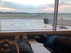 La espera en Bogotá