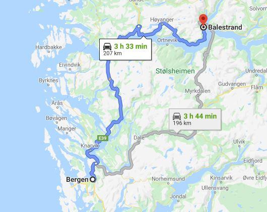 Dia 11 Balestrand - Bergen
