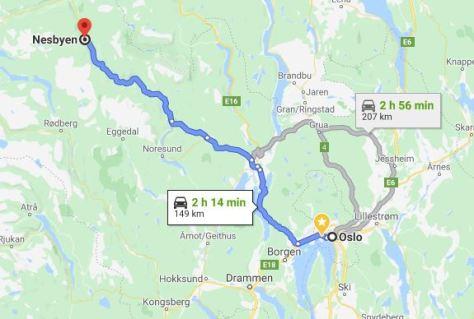 Dia 13 Nesbyen - Oslo