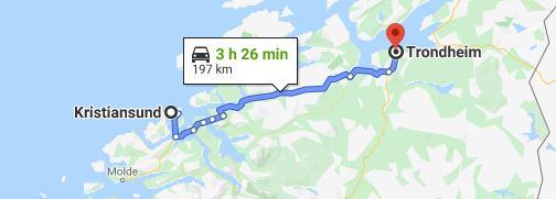 Dia 5 Trondheim - Kristiansund