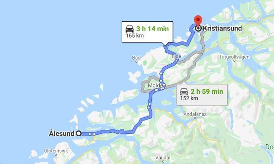 Dia 6 Kristinasund - Alesund