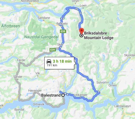 Dia 9b Glaciar - Balestrand