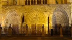 Catedral de León de noche